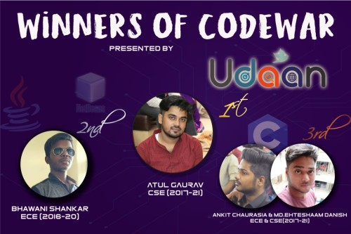 CodeWar winners